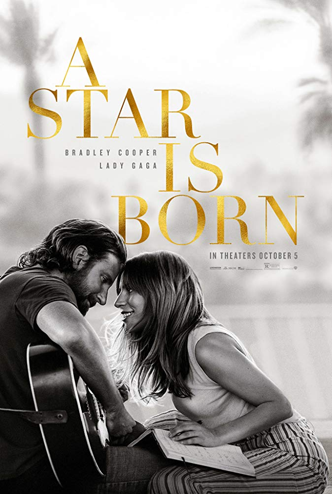 A Star Is Born (2018) (Rating 8,0) (Coming Soon on DVD at Filmkunstbar Fitzcarraldo)