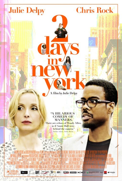 Zwei Tage in New York - 2 Days in New York (2012) (Rating 6,3) DVD6633
