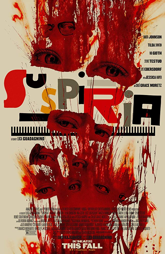 Suspiria (2018) (Rating 6,5) (Coming Soon on DVD at Filmkunstbar Fitzcarraldo)