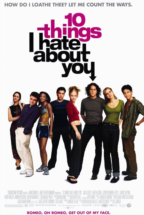 10 Dinge, die ich an dir hasse - 10 Things I Hate About You (1999) (Rating 7,2) DVD9319