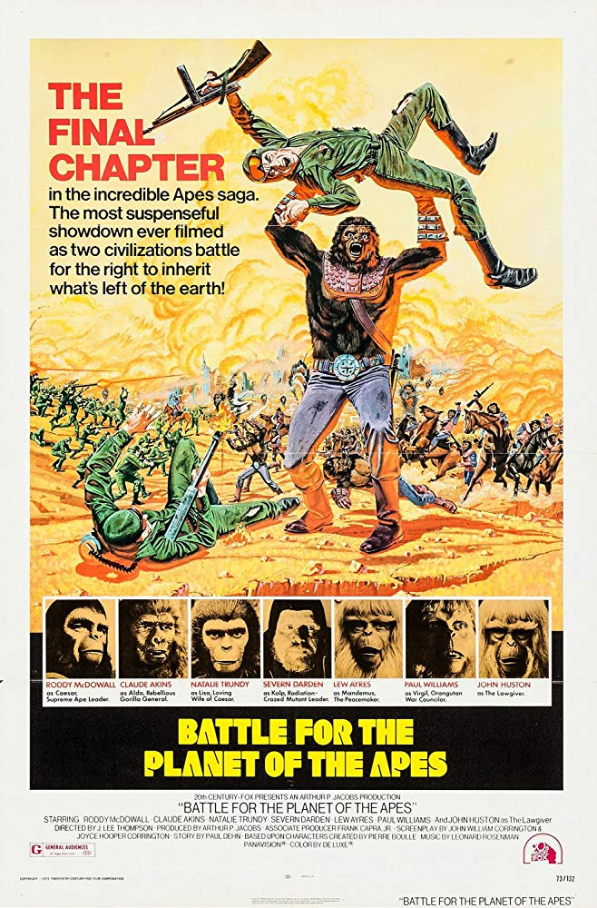 Die Schlacht um den Planet der Affen - Battle for the Planet of the Apes (1973) (Rating 7,0) DVD4941