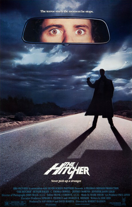 FREE ON YOUTUBE Hitcher, der Highway Killer - The Hitcher (1986) (Rating 7,7)DVD294