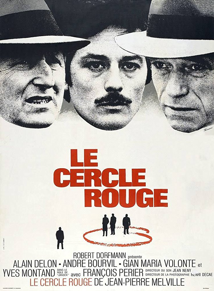The Red Circle - Vier im roten Kreis - Le cercle rouge (1970) (Rating 9,1) (OmeU) DVD4040