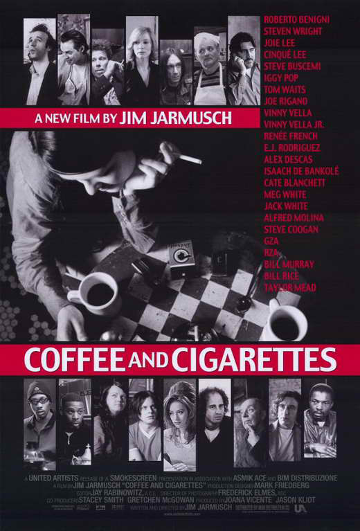 Coffee and Cigarettes (2003) (Rating 8,2) DVD4250+4252