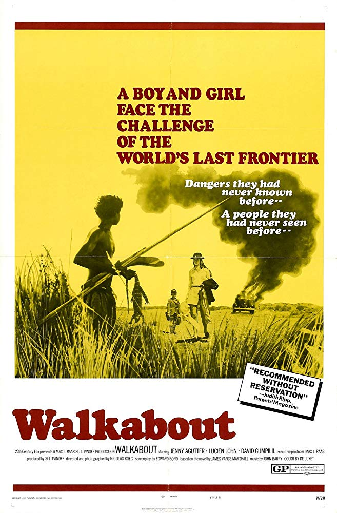 Walkabout (1971) (Rating 9,0) DVD1844