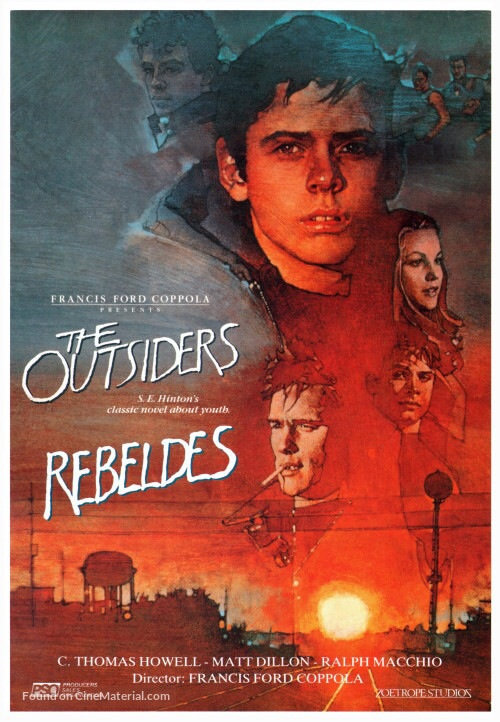 Die Outsider - The Outsiders (1983) (Rating 8,0) (OF) DVD3281