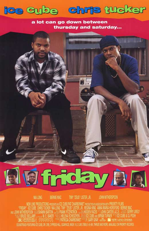 Friday (1995) (Rating 7,3) DVD-