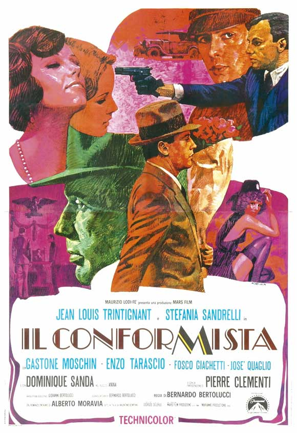 The conformist - Der Konformist - Il conformista (1970) (Rating 9,0) (OmeU) DVD7331+2774+7737