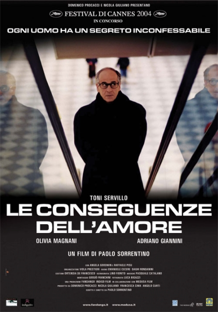 FREE ON YOUTUBE The consequences of love - Le conseguenze dell'amore (2004) (Rating 9,0) (OmeU) DVD5317