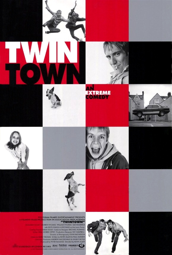 FREE ON YOUTUBE Twin Town (1997) (Rating 6,8) DVD6584
