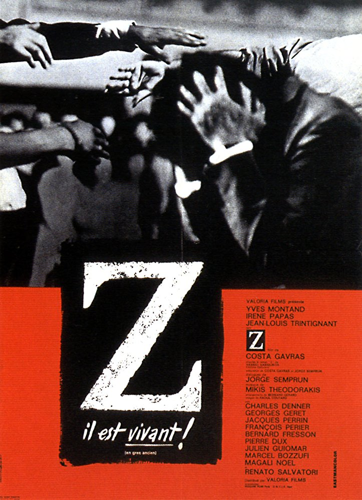 FREE ON YOUTUBE Z (1969) (Rating 9,0) (Code 1) DVD6844