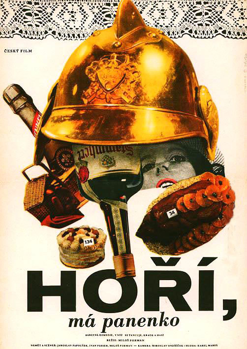 The Firemen's Ball - Horí, má panenko (1967) (Rating 9,0) (OmeU) DVD7453