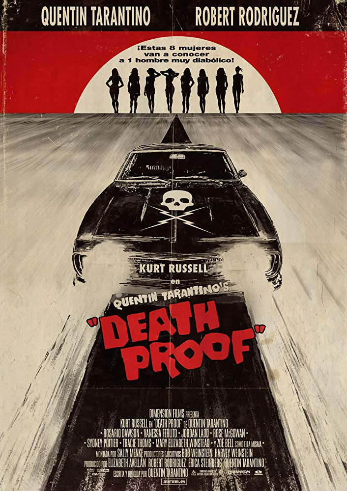 Death Proof (2007) (Rating 7,8) DVD6369