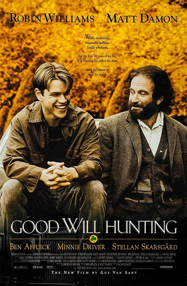 Good Will Hunting (1997) (Rating 8,0) DVD514
