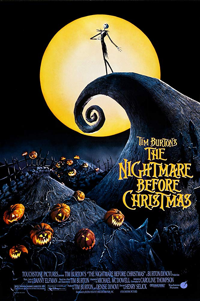 Nightmare Before Christmas - The Nightmare Before Christmas (1993) (Rating 8,9) DVD3418