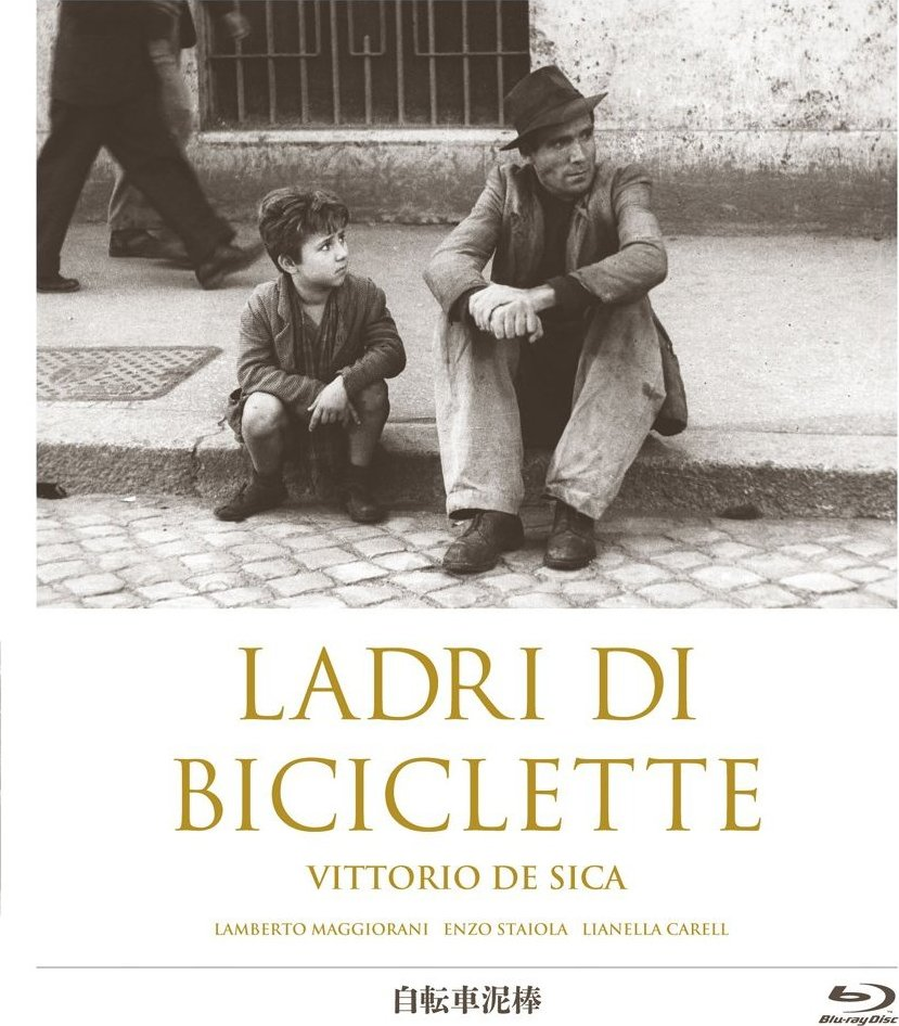Bicycle Thieves - Fahrraddiebe - Ladri di biciclette (1948) (Rating 9,1) DVD6985