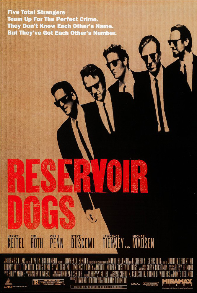 Reservoir Dogs (1992) (Rating 7,2) DVD3998