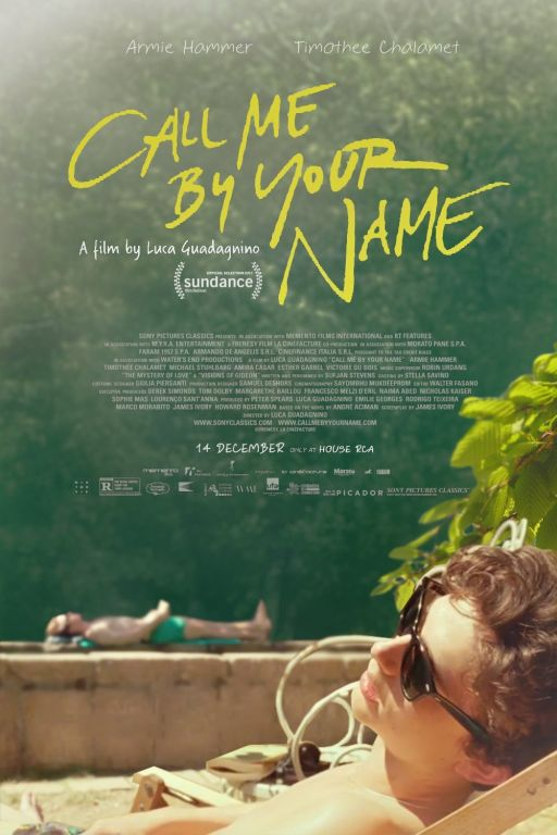 Call Me By Your Name DVD10204 Image