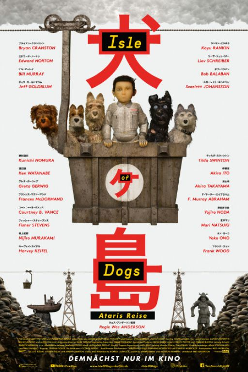 Isle Of Dogs DVD10223 Image