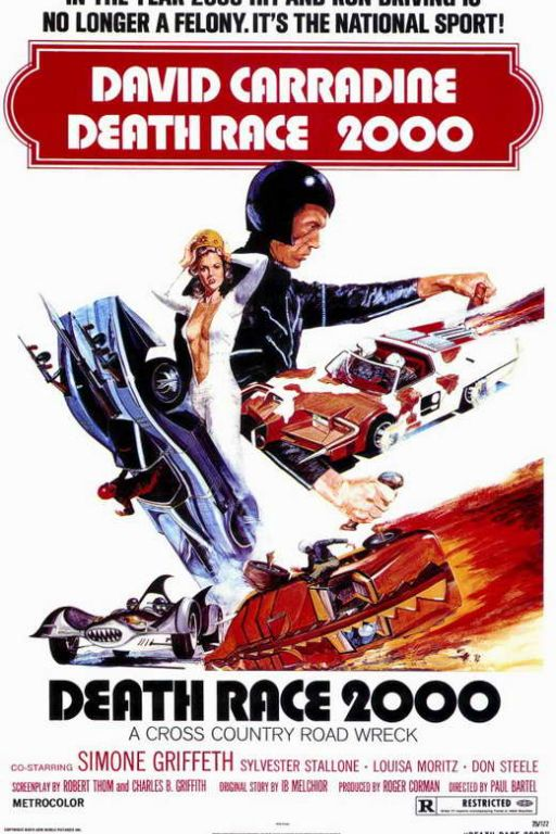 Frankensteins Todesrennen - Death Race 2000 (Coming Soon on DVD at Filmkunstbar Fitzcarraldo)