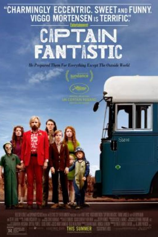 Captain Fantastic DVD3355