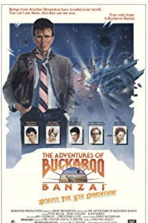 The Adventures of Buckaroo Banzai Across the 8th Dimension (Coming Soon on DVD at Filmkunstbar Fitzcarraldo)