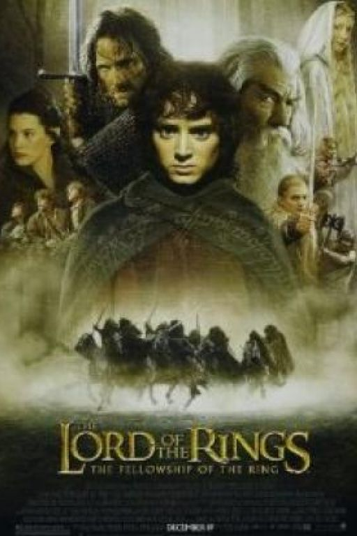 Lord Of The Rings (2001-2003) DVDs 7790 (I), 6694 (II), 2089 (III)