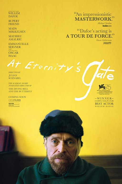 Van Gogh - At Eternity's Gate (2018) (Rating 7,5) (Coming Soon on DVD at Filmkunstbar Fitzcarraldo)
