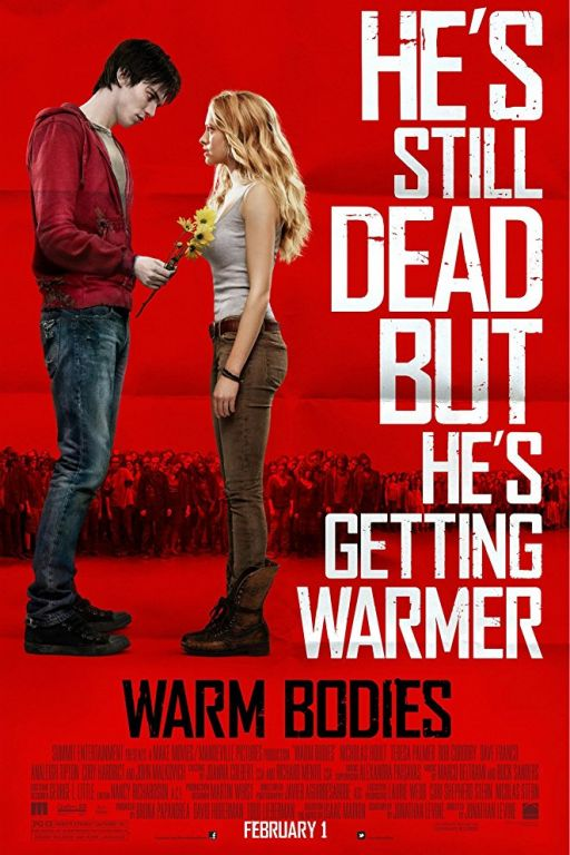 Warm Bodies (2013) (Rating 7,1) DVD7245