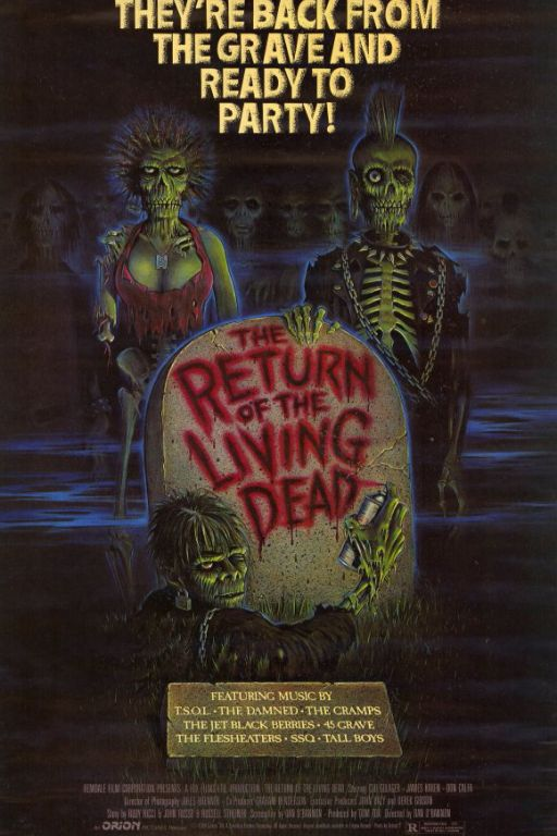 The Return of the Living Dead (1985) (Rating 7,5) DVD646