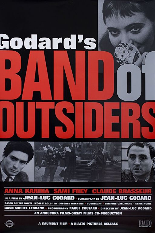 Band of Outsiders - Die Aussenseiterbande - Bande à part (1964) (Rating 8,1) DVD312