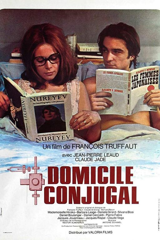 Bed and board - Tisch und Bett - Domicile conjugal (1970) (Rating 9,0) (OmeU) DVD2736