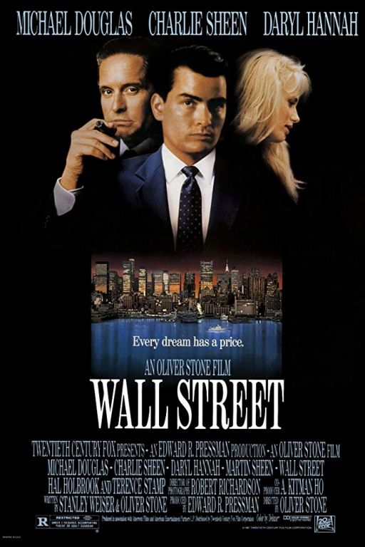 Wall Street (1987) (Rating 7,4) DVD34