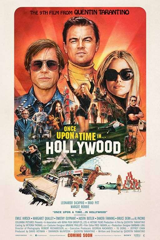 Once Upon a Time in Hollywood (2019) (Rating 8,0) (Coming Soon on DVD at Filmkunstbar Fitzcarraldo)
