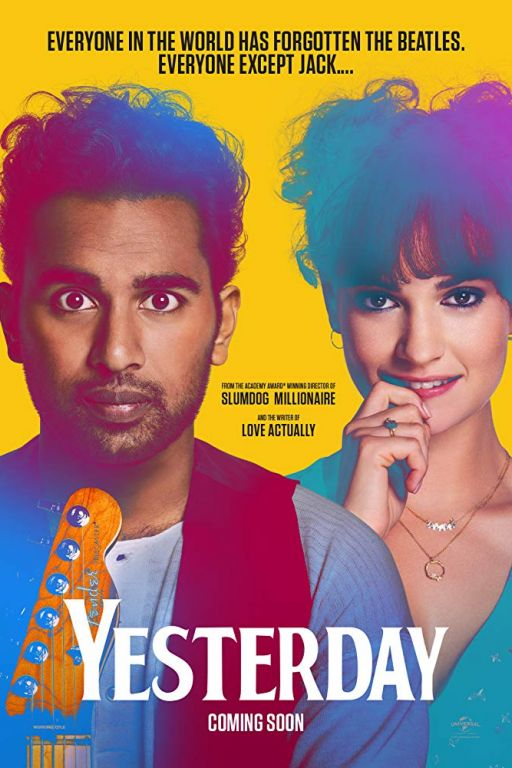 Yesterday (2019) (Rating 7,0) (Coming Soon on DVD at Filmkunstbar Fitzcarraldo)