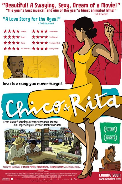 Chico & Rita (2010) (Rating 7,2) (OmeU) DVD3327