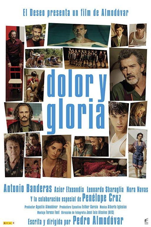 Pain And Glory - Leid und Herrlichkeit - Dolor y gloria (2019) (Rating 8,5) (Coming Soon on DVD at Filmkunstbar Fitzcarraldo)