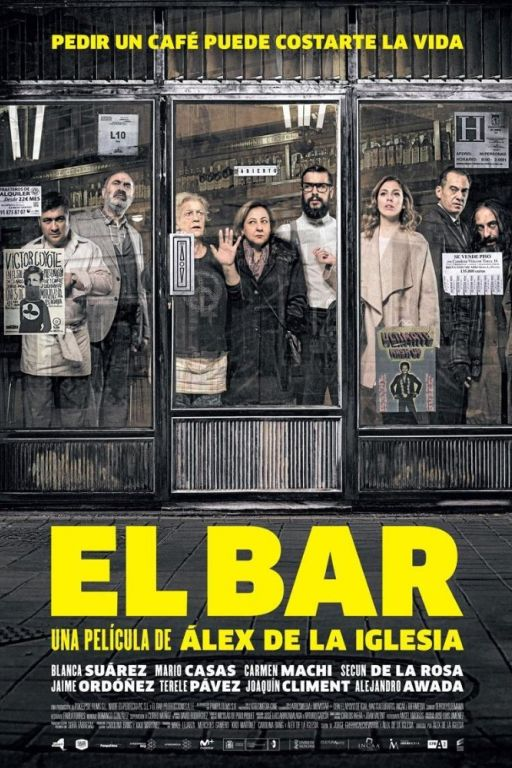 The Bar - El Bar (2017) (Rating 7,9) DVD10098
