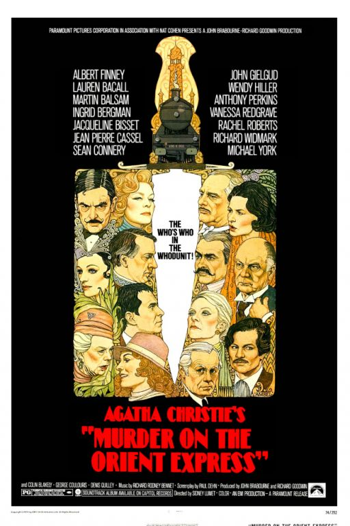 Mord im Orientexpress - Murder on the Orient Express (1976) (Rating 8,3) DVD217