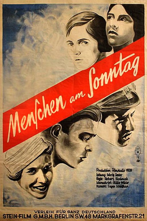 People on Sunday - Menschen am Sonntag (1930) (Rating 8,8) DVD3658