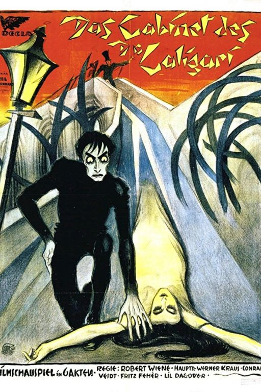 The Cabinet of Dr. Caligari - Das Cabinet des Dr. Caligari (1920) (Rating 9,1) DVD2872