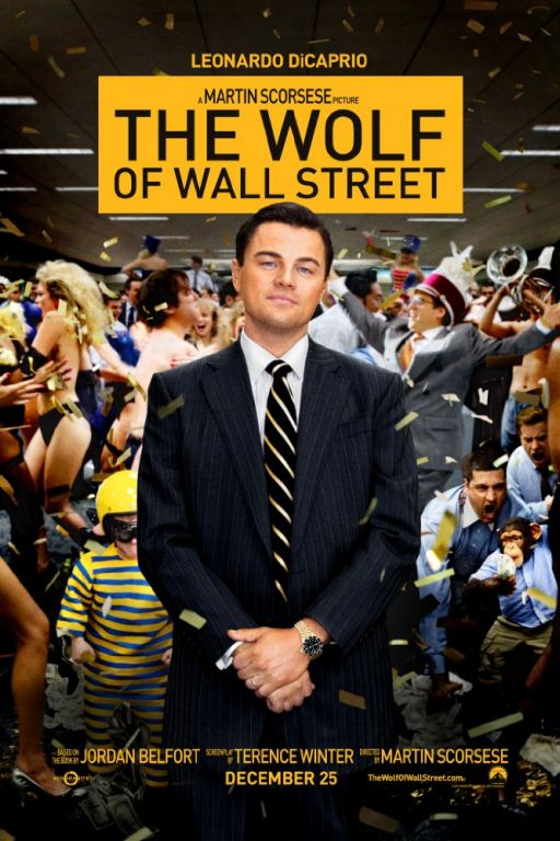The Wolf of Wall Street (2013) (Rating 9,0) DVD702