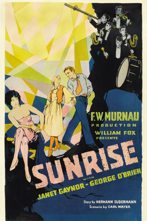 Sonnenaufgang - Sunrise: A Song of Two Humans (1927) (Rating 8,9) DVD3875
