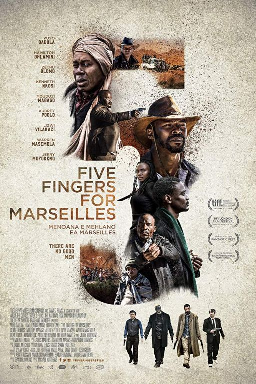 Five Fingers For Marseille (2017) (Rating 7,5) DVD10553