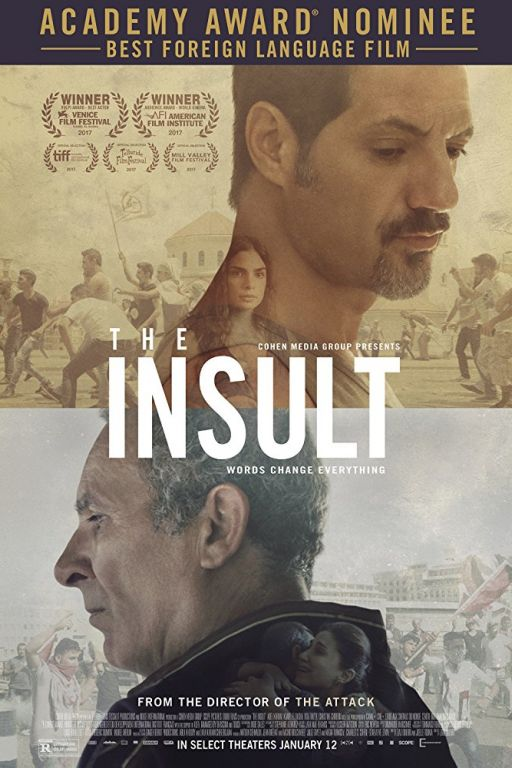 The Insult - Der Affront - L'insulte (2017) (Rating 8,5) DVD10473