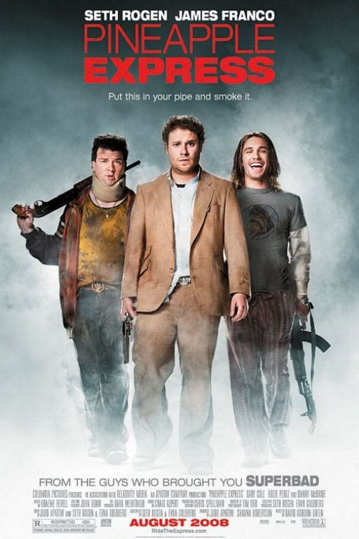 Ananas Express - Pineapple Express (2008) (Rating 8,0) DVD8459