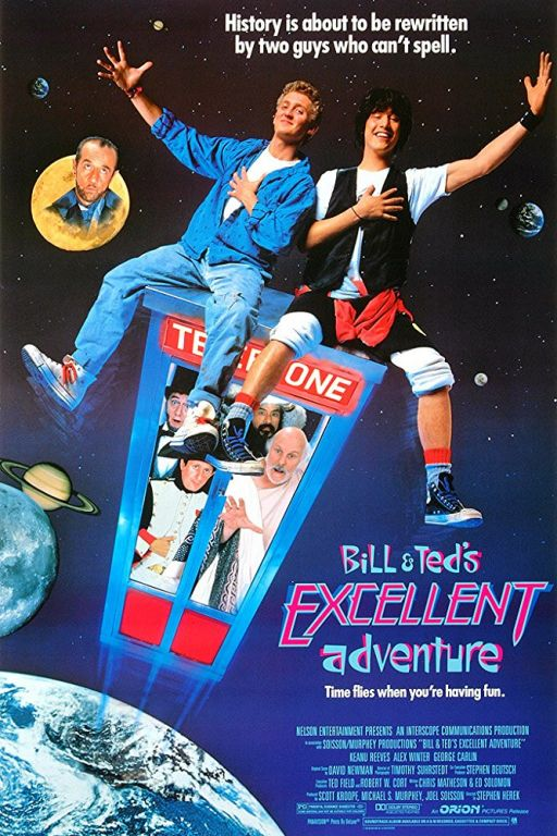Bill und Teds verrückte Reise durch die Zeit - Bill & Ted's Excellent Adventure (1989) (Rating 6,9) DVD4156