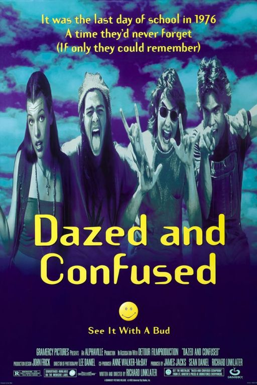 Confusion - Dazed And Confused (1993) (Rating 8,1) DVD2477