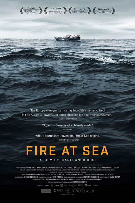 Fire at Sea - Seefeuer - Fuocoammare (2016) (Rating 7,4) DVD9965