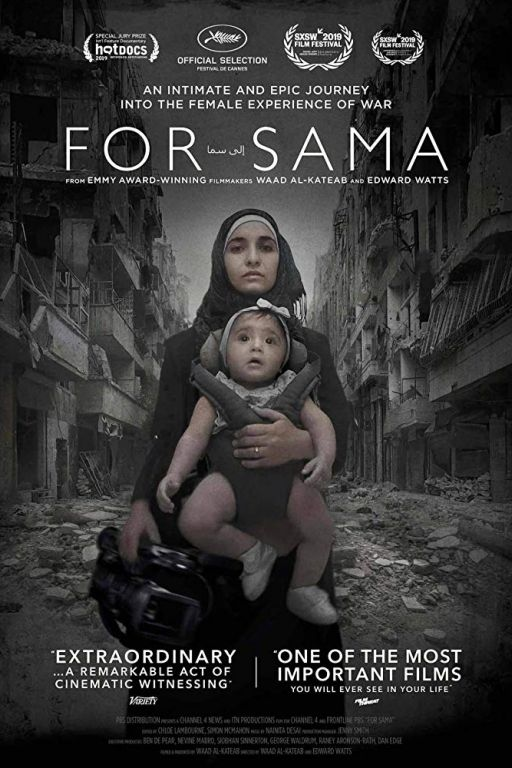 For Sama - Für Sama (2019) (Rating 9,0) (Coming Soon on DVD at Filmkunstbar Fitzcarraldo)